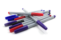 Färgrika pennor Royaltyfri Foto