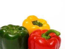 färgrika peppar Fotografering för Bildbyråer