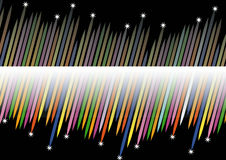färgrika pilar Royaltyfria Foton