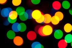 Färgrika prickar arkivfoton