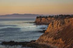 Färgrika Rancho Palos Verdes Sunset arkivfoto