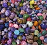 färgrika rocks Royaltyfri Foto