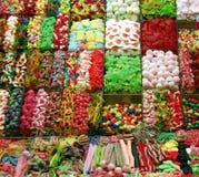 färgrika sötsaker Fotografering för Bildbyråer