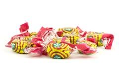 färgrika sötsaker för caramel Royaltyfria Bilder