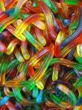 färgrika sötsaker för godis Fotografering för Bildbyråer