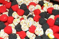 färgrika sötsaker för godis Royaltyfria Foton