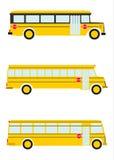 Skolbuss. stock illustrationer