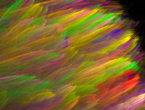 färgrika slaglängder Arkivfoton