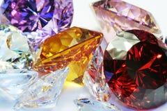 färgrika smycken Royaltyfria Bilder