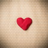 Färgrika stack hjärtor Arkivfoton