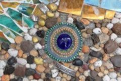 färgrika stenar arkivbilder