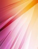 färgrika strålar 1 vektor illustrationer