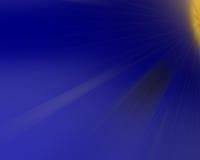 Färgrika strålar av ljus, abstrakt begrepp brast bakgrund Arkivbild