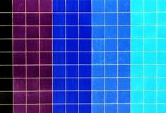 Färgrika tegelplattor Fotografering för Bildbyråer
