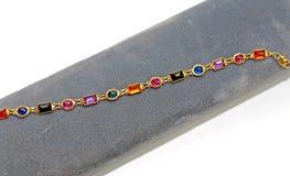 färgrika tes för armband Royaltyfri Foto
