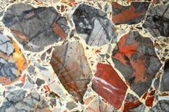 Färgrika texturer för stenbakgrundsmodell Royaltyfria Foton
