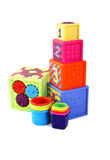 färgrika toys Royaltyfri Foto