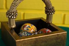 Färgrika turkbollar Royaltyfria Foton