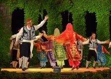 Färgrika turkiska aktörer Royaltyfria Bilder