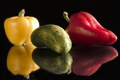 färgrika vitaminer royaltyfri foto