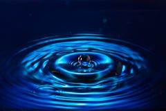Färgrika Waterdrop Arkivfoto