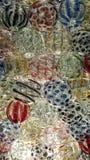 Färgrikt abstrakt begrepp av kristallkula Royaltyfri Foto