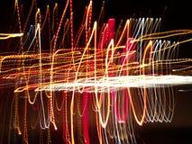 Färgrikt abstrakt ljus och suddig bakgrund Royaltyfri Fotografi