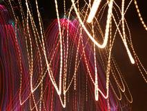 Färgrikt abstrakt ljus och suddig bakgrund Royaltyfri Foto
