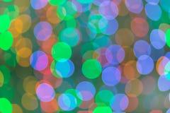 Färgrikt av Bokeh 1 Fotografering för Bildbyråer