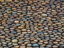 Färgrikt av den plana stenväggen Arkivfoton