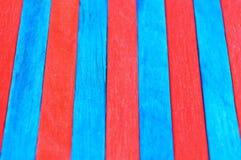 Färgrikt av den wood glasspinnen royaltyfri fotografi