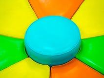 Färgrikt av soffan Royaltyfri Fotografi
