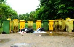 färgrikt avfall Royaltyfri Foto