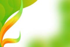 färgrikt blad, abstrackbakgrund Arkivfoto