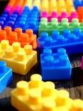 färgrikt blockbyggande Royaltyfri Bild