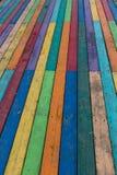 Färgrikt bräde för bakgrund Arkivbilder