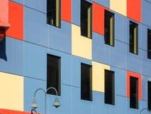 färgrikt byggande arkivbild