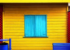 färgrikt byggande royaltyfri fotografi
