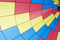 Färgrikt cirkustält som göras av tyg arkivfoto