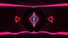 Färgrikt dansgolv med flera skina HD royaltyfri illustrationer