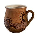 Färgrikt dolt med keramiskt handgjort för glasyr rånar arkivfoton