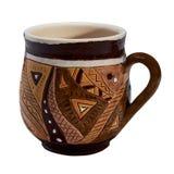 Färgrikt dolt med keramiskt handgjort för glasyr rånar royaltyfria foton