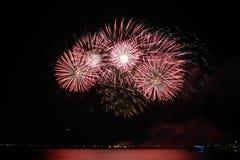 Fireworks-display-series_46 Royaltyfria Bilder