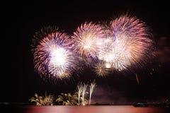Fireworks-display-series_42 Arkivfoto