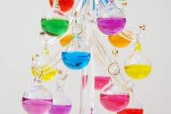 färgrikt exponeringsglas för boll Royaltyfri Fotografi