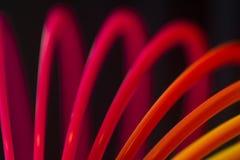 Färgrikt för konstvirvel för röd färg runt abstrakt begrepp Royaltyfria Foton
