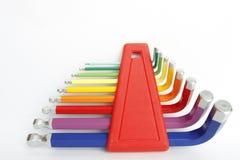 Färgrikt förhäxa allen hjälpmedel fotografering för bildbyråer