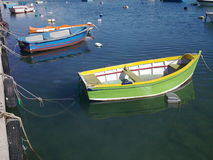 färgrikt fartyg Royaltyfri Fotografi