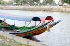 färgrikt fartyg Royaltyfri Foto