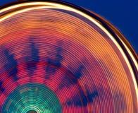 färgrikt ferrishjul för karneval Arkivfoton